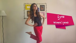 Lyra Women 39 s Pants Review