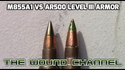 M855A1 vs Level III AR500 Armor