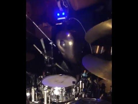 Robot drummer DRMBOT0110 reaches 600 bpm blast beats.. world record blast beats..!!