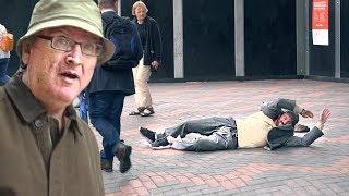 Old Man Backflip PRANK!