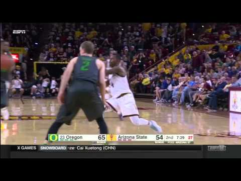 #5 Obi Oleka Arizona State 2015-2016 Highlights
