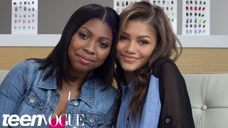 Zendaya and Zink Play Besties Word Association – Besties – Teen Vogue
