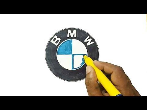 How to Draw the BMW Logo