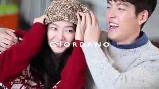 Kim Woo Bin & Shin Min Ah for Giordano bts