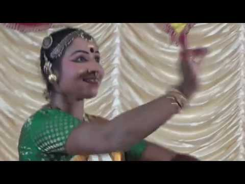 Part (4) Smt.Kala Rajesh Mohini attam Programme at Kartik Mandir Nerul on 24 Oct 2017