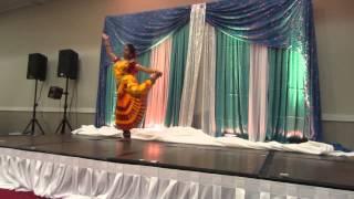 Bharatnatyam fusion dance on Kehta hai mera dil