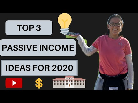 PASSIVE INCOME IDEAS FOR 2020 | TOP 3 ON MY LIST