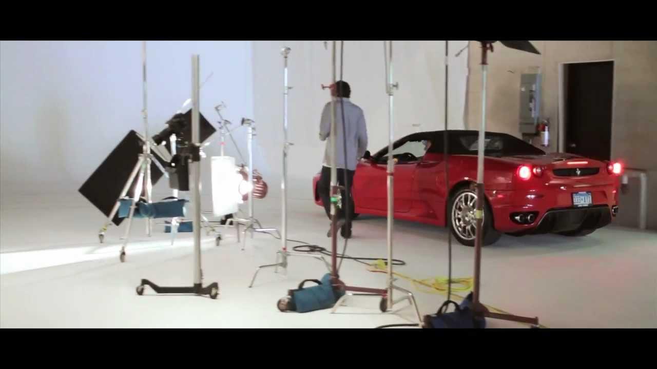 Ferrari | Mercedes photoshoot behind the scenes