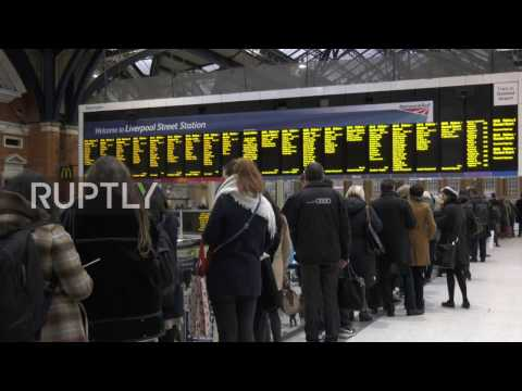 UK: Thousands struggle to commute as London tube strike enters second day