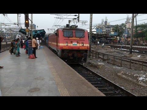 High speed Gitanjali Express skips Thane with great honking!!!