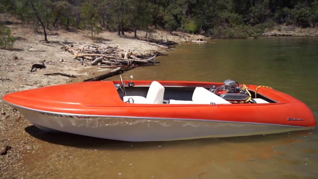 1967 Galaxie 17 Vintage Jet Boat For Sale