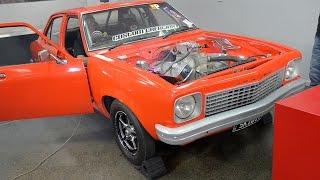 9-litre V8 dyno - SKIDIT Holden Torana