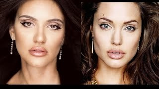 Angelina Jolie Inspired Makeup Tutorial | Ali Andreea