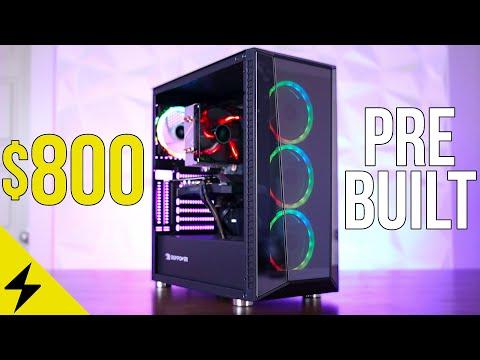 Are Prebuilt Gaming PCs finally worth it? - $800 iBuyPower Ryzen 3600 + GTX 1660 Review & Benchmarks