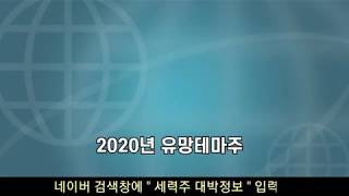 2020년 유망테마주 - 주식투자 세력주 작전주 테마주…