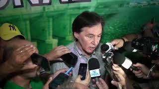 Senador Eunício justifica postura conciliadora do PMDB com o governador Camilo