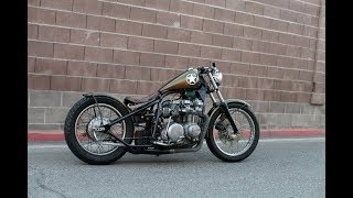 Chappell Customs 1979 KZ650 bobber build