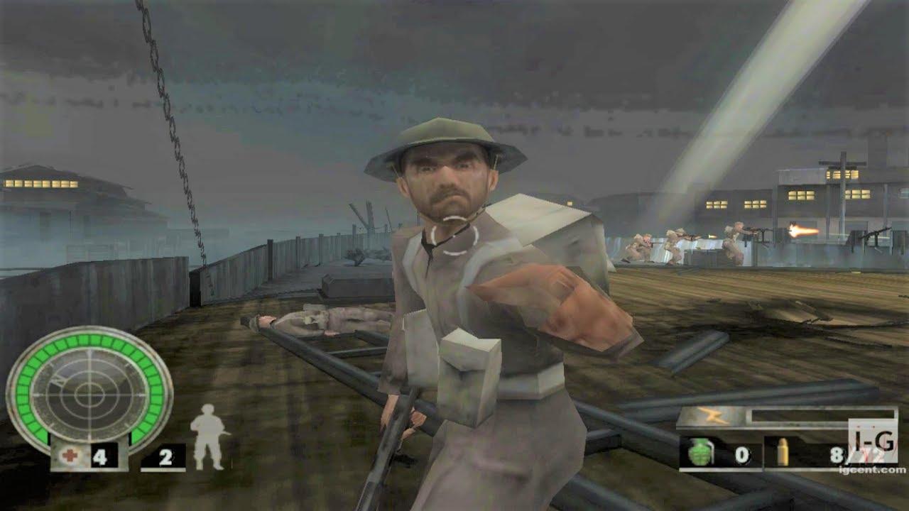 Medal of Honor: European Assault GameCube Gameplay HD