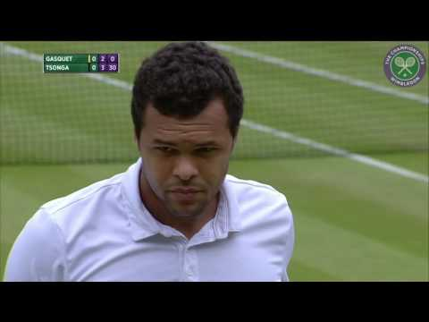 2015, Day 7 Highlights, Jo-Wilfried Tsonga vs Richard Gasquet