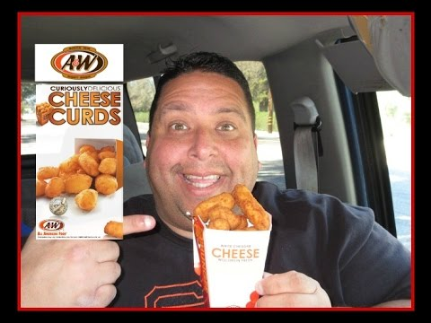 A&W® All American Food | Cheese Curds REVIEW!