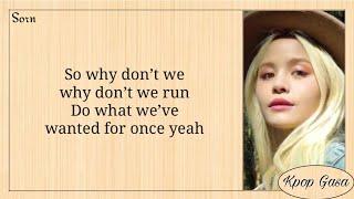 Download SORN (손) - 'Run' Easy Lyrics