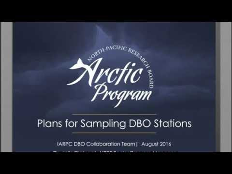 NPRB Arctic Program Plans for Sampling DBO Stations || Dickson