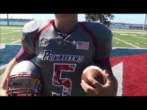 SUNY Maritime College Football 9/11 Tribute Jerseys - Chowder Bowl 2014