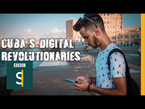 Cuba's 3G digital revolutionaries - BBC Stories