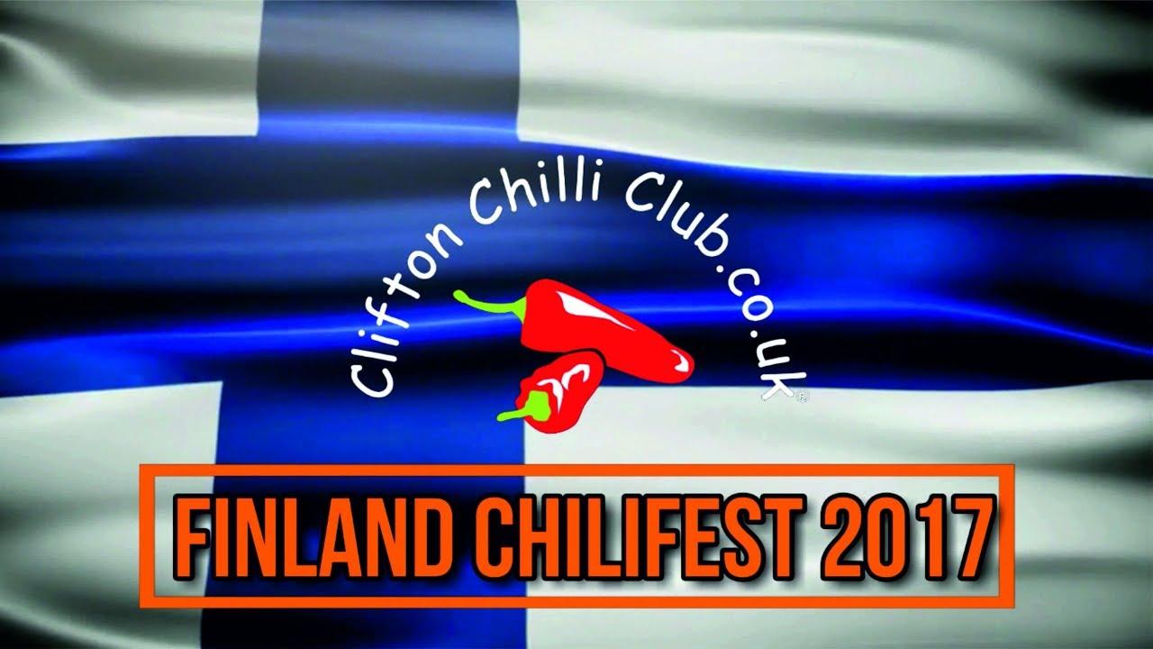 Finland Chilli Fest 2017 Vlog