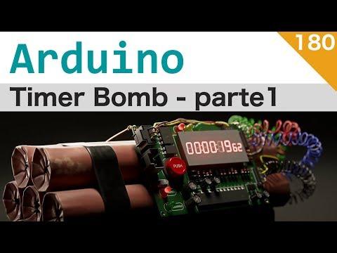 Bomba A Tempo (per Softair) Con Arduino - Parte 1/3 - Lezione 180