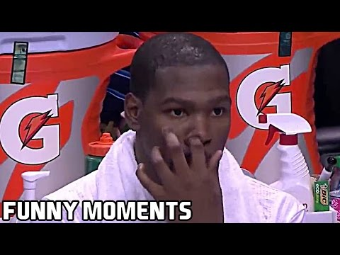 Kevin Durant FUNNY MOMENTS