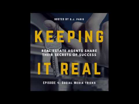 Keeping it Real - D.J. Paris - Secret Twitter and LinkedIn Strategies for Realtors
