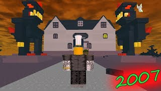 PLAYING 2007 HORROR MAPS ON FRIDAY THE 13th (Roblox)