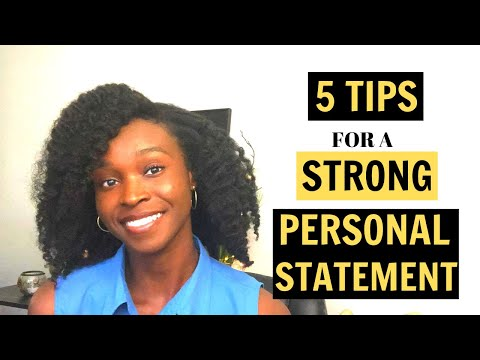 HOW TO WRITE A PERSONAL STATEMENT FOR GRAD SCHOOL | Statement Of Purpose Example | The African PhD