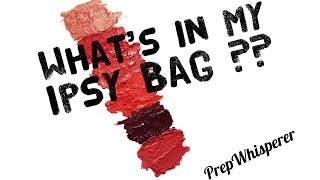 What's in my December and January Ipsy Bags ??