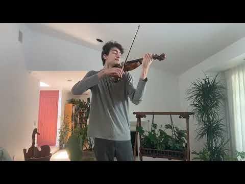 Violinist Stephen Waarts | VC LIVING ROOM LIVE