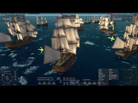 Naval Action Portbattle in Grand Turk SWE vs RUS