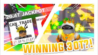60T RAP! JACKPOTTING TRILLIONS EP. 7 - France Clicker Roblox Case