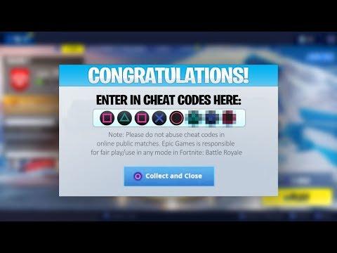 I found cheat codes in Season 7 Fortnite...