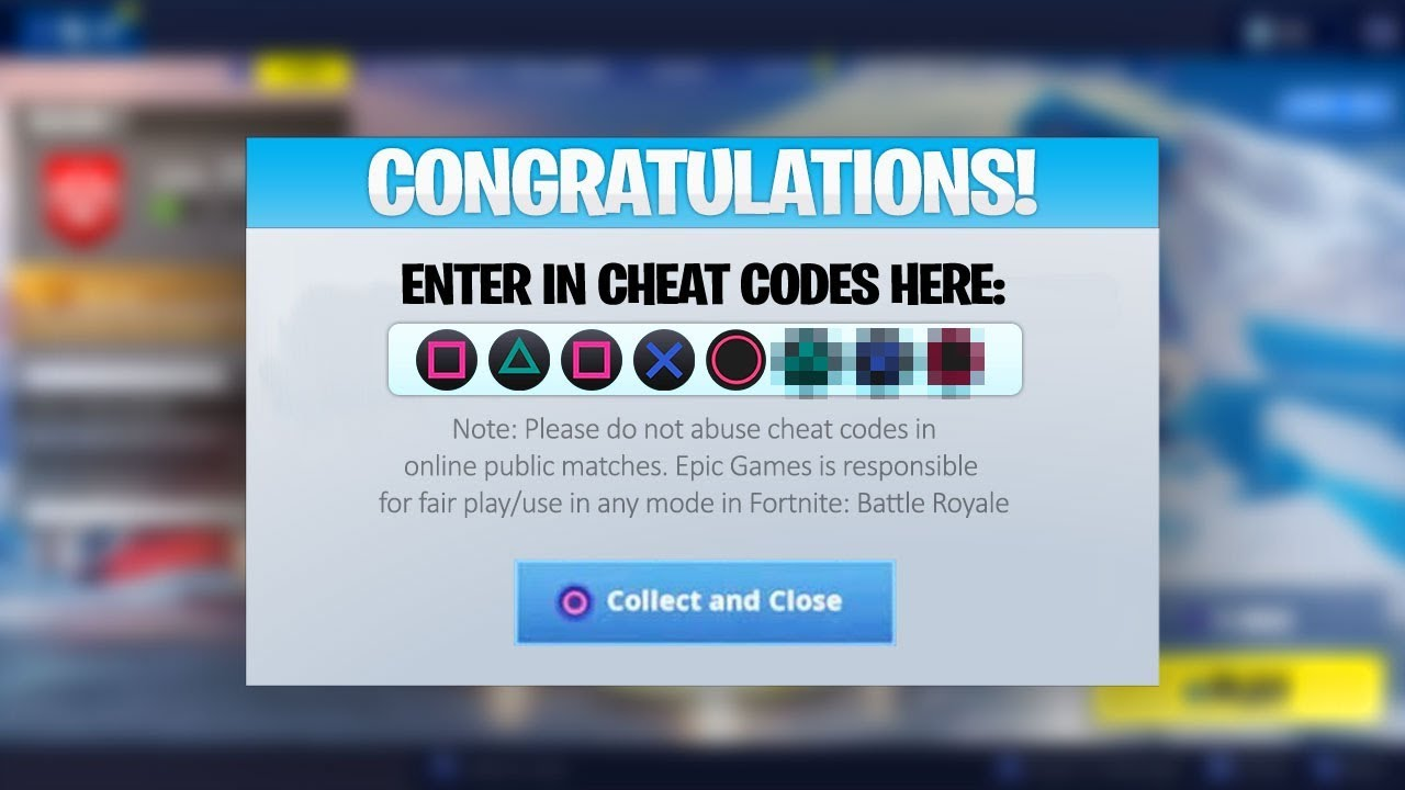 I found <b>cheat codes</b> in Season 7 <b>Fortnite</b>... - YouTube