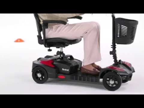 Drive Medical Spitfire Scout 4 Mobility Scooter