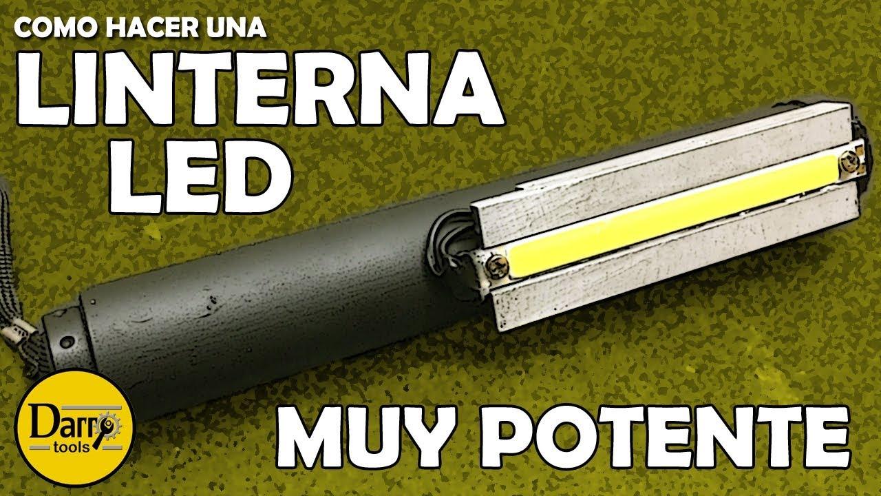 Linterna led muy potente youtube for Linterna de led potente