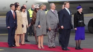 King Willem Alexander and Queen Maxima of The Netherlands State visits Denmark