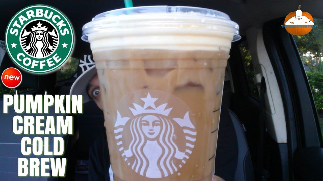 Starbucks Pumpkin Cream Cold Brew Review