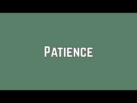 Shawn Mendes - Patience (Lyrics)