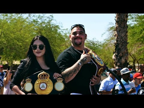 Imperial Welcomes Home World-Champion Boxer Andy Ruiz Jr.
