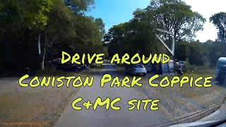 Drive round Coniston park coppice caravan & motorhome club site in the lake district