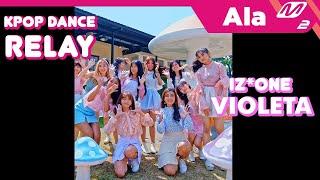 Ala M2 | XP-TEAM | IZ*ONE _ VIOLETA Dance Cover Relay