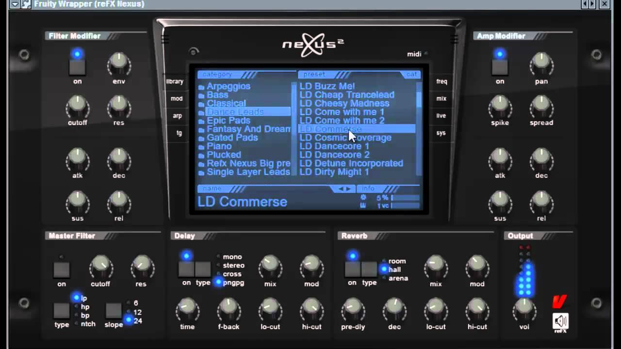 Nexus vst plugin synthesizer