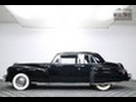 1948 lincoln continental (vip) restored condition  v12  overdrive  rare -  for sale